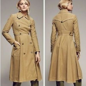 Free People Full Sweep Trench Coat